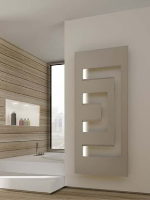 led labyrinth radiateur