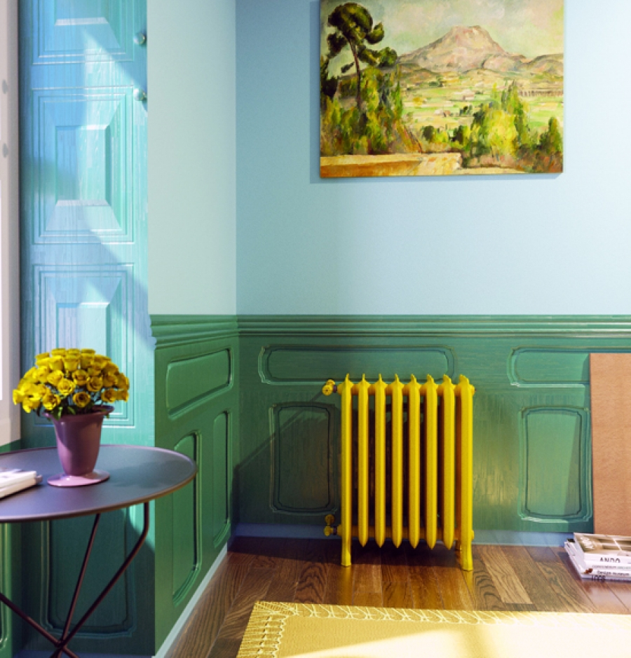 radiateur fonte en toutes couleurs. Black Bedroom Furniture Sets. Home Design Ideas