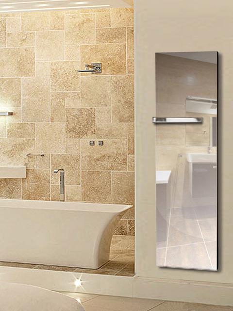 S che serviettes miroir r flexion s che serviettes lectrique miroir radiateurs senia - Miroir salle de bain chauffant ...