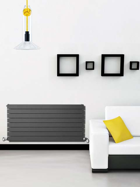 radiateur horizontal team radiateur de couleur radiateurs senia. Black Bedroom Furniture Sets. Home Design Ideas