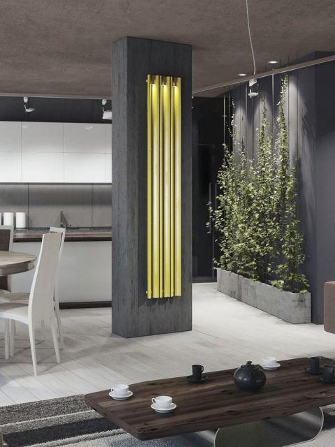 radiateur moderne lite radiateur avec clairage radiateurs senia radiateur acier. Black Bedroom Furniture Sets. Home Design Ideas