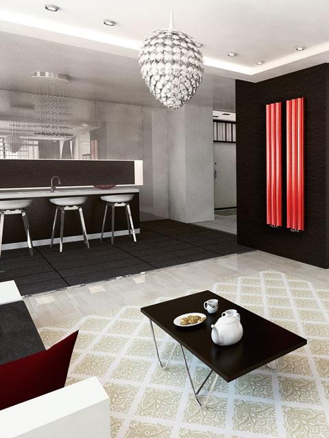radiateur moderne lite radiateur avec clairage. Black Bedroom Furniture Sets. Home Design Ideas