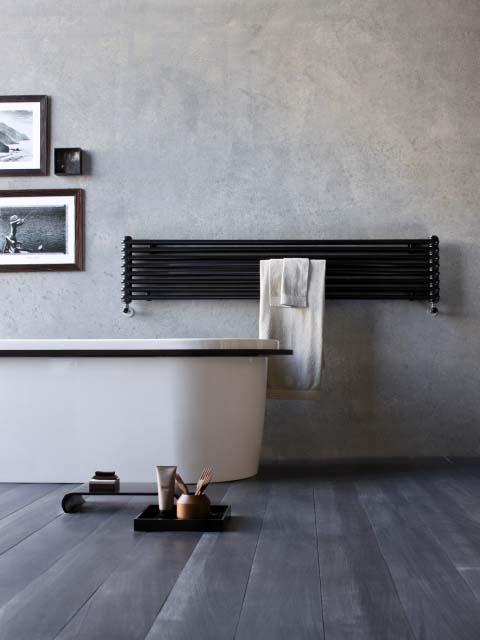 s che serviettes horizontal boucle radiateur s che. Black Bedroom Furniture Sets. Home Design Ideas